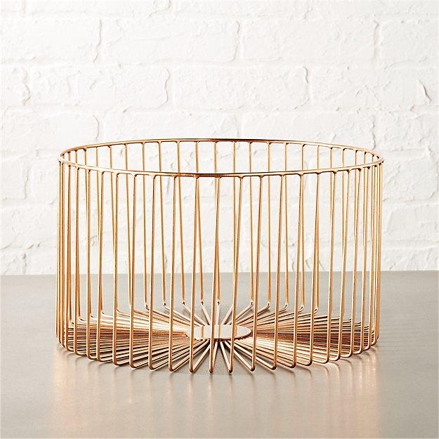 beam medium copper basket