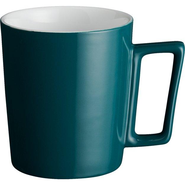 beam peacock blue mug