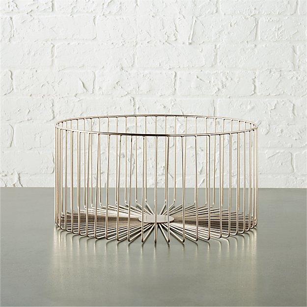 beam large silver basket