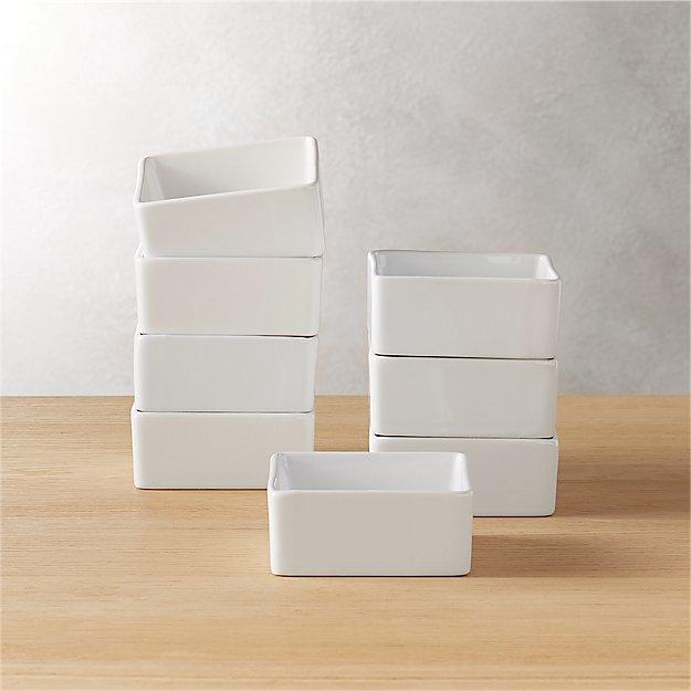 set of 8 bento mini bowls