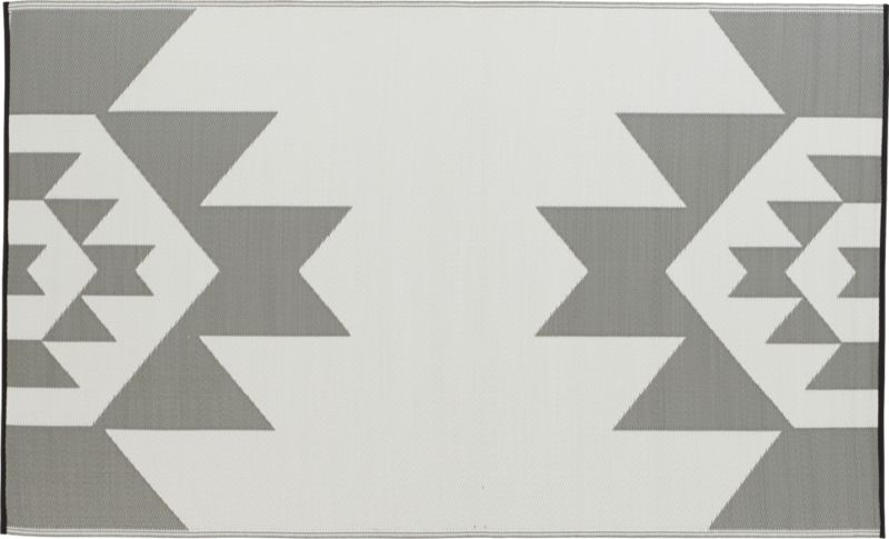 bergama reversible outdoor rug 5'x8'