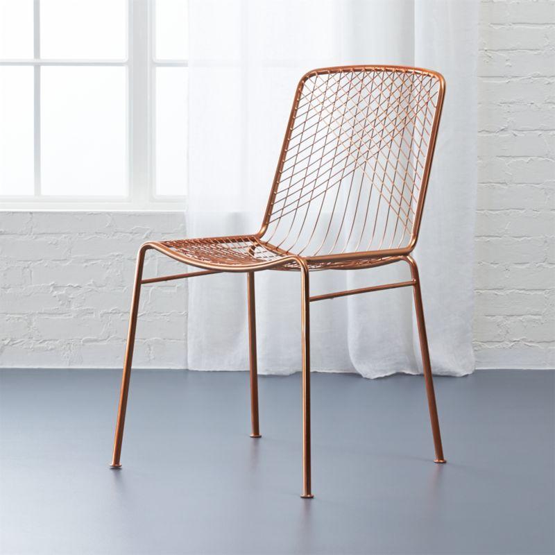 Beta Rose Chair Cb2