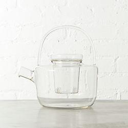 betty glass teapot