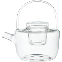 betty glass teapot