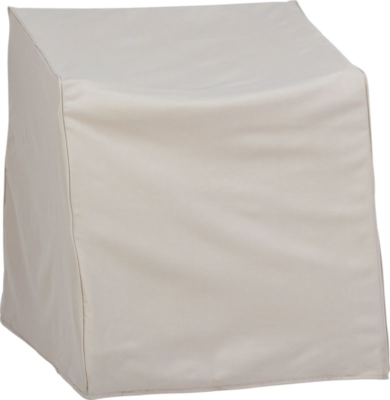 islita corner chair cover in outdoor furniture cb2 - Patio Chair Covers