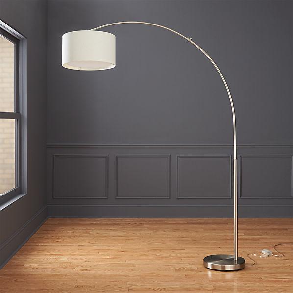 Big Dipper Arc Floor Lamp Cb2