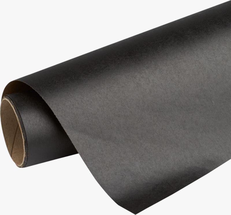 kraft-black gift wrap