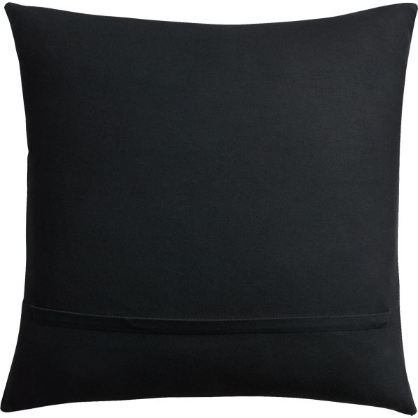 BlackLeatherCrocoPillow16x16AVF16