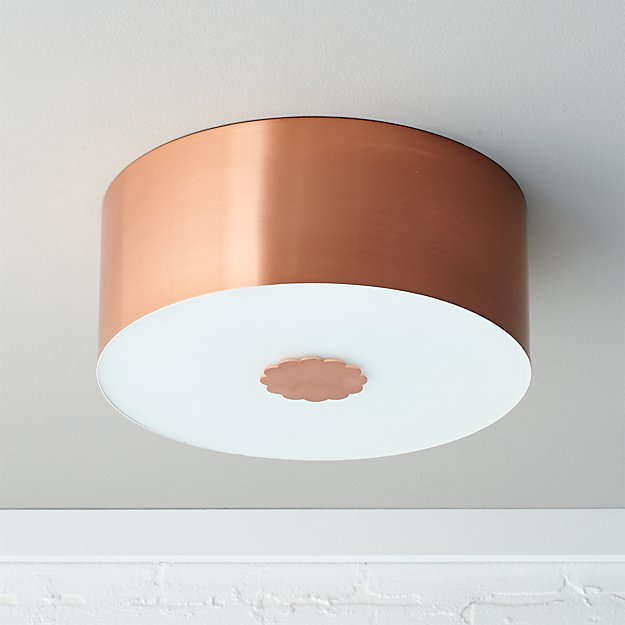 blanche flush mount lamp