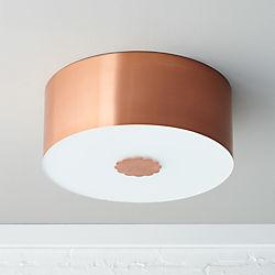 blanche flush mount lamp