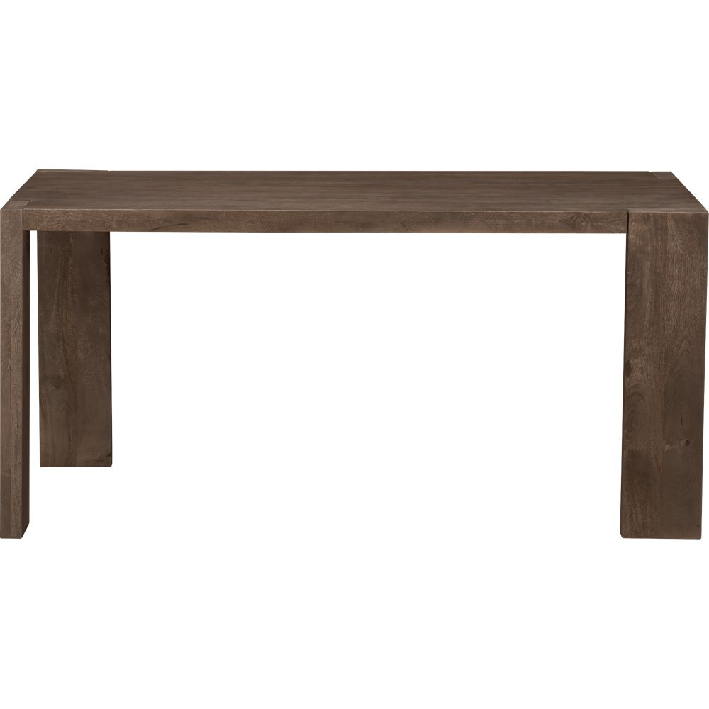 plank dining table cover in outdoor furniture | CB2