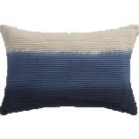 """blue azure 18""""x12"""" pillow"""