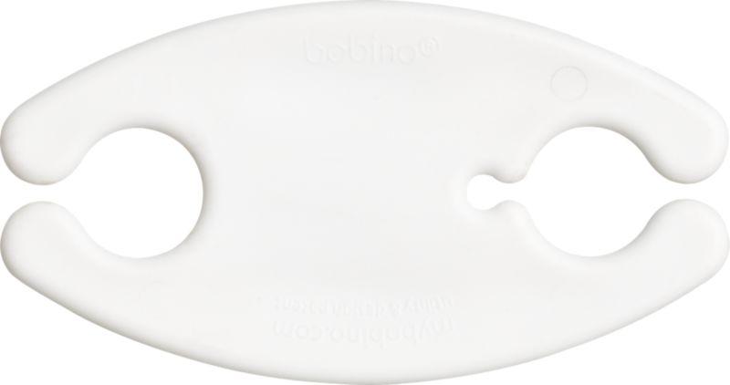 large white bobino cord wrap