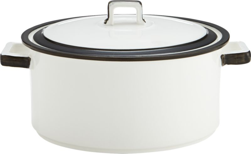borderline baking dish-pot