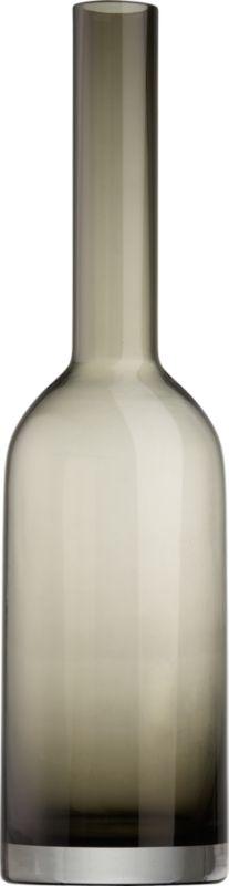bottle smoke vase