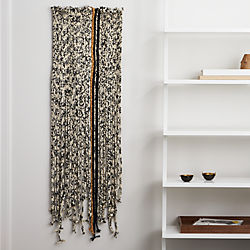 braided fringe wall hanging