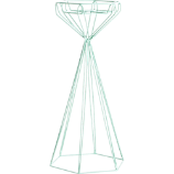 branly large mint candle holder