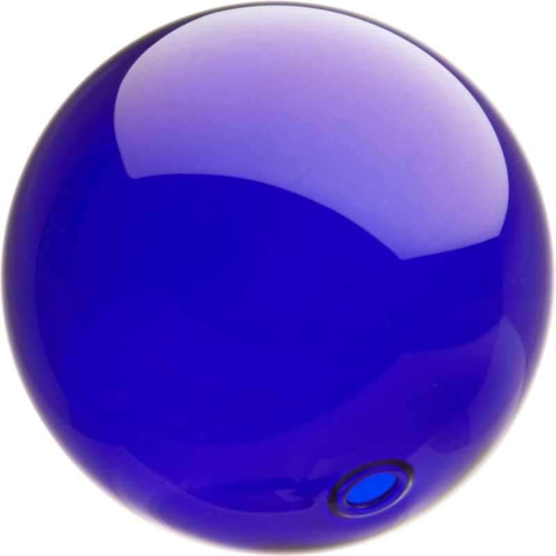 bubble sphere blue