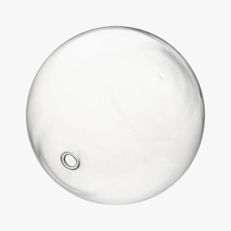bubble sphere clear large