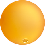 bubble sphere orange