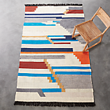 building blocks rug