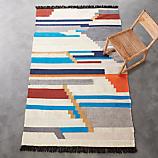 building blocks rug