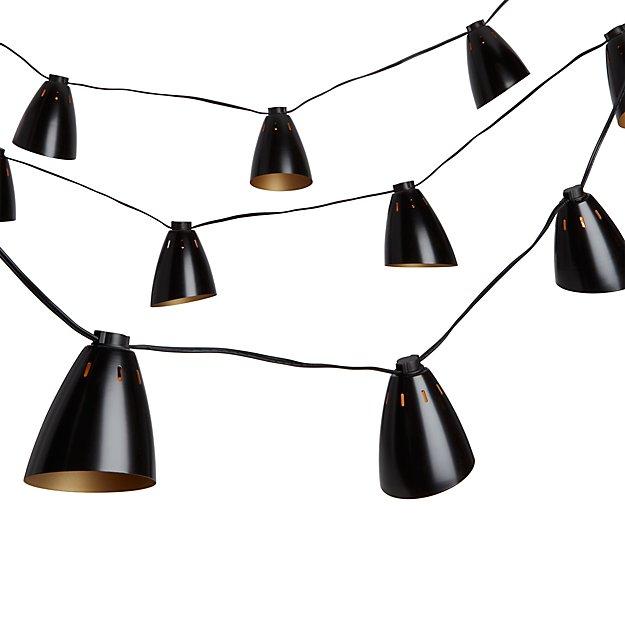 bullet lamp string lights