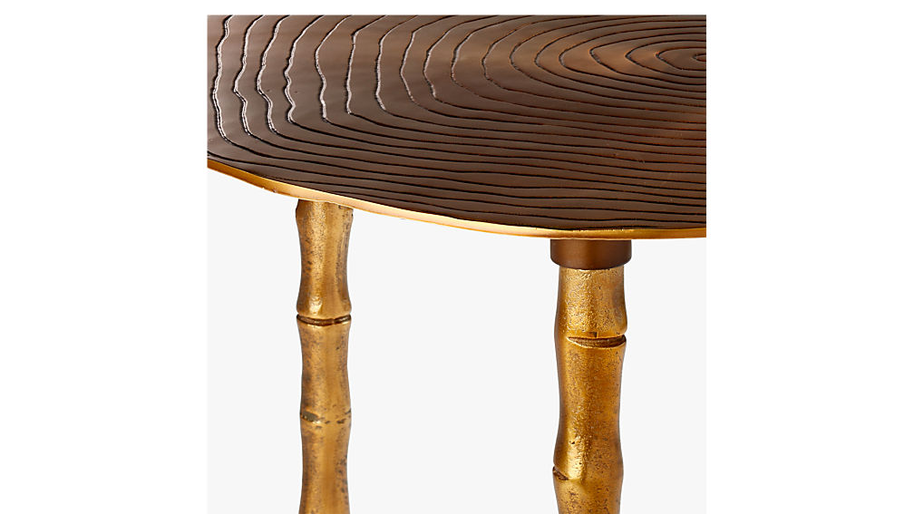 atol bamboo bunching side table