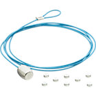 blue cable photo cord.
