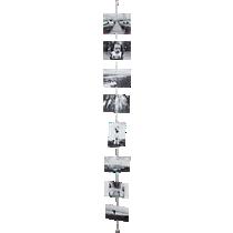silver cable photo cord