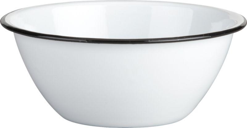 camper enamel bowl