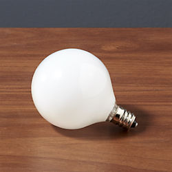 candelabra 60W light bulb