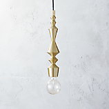 candlestick pendant light