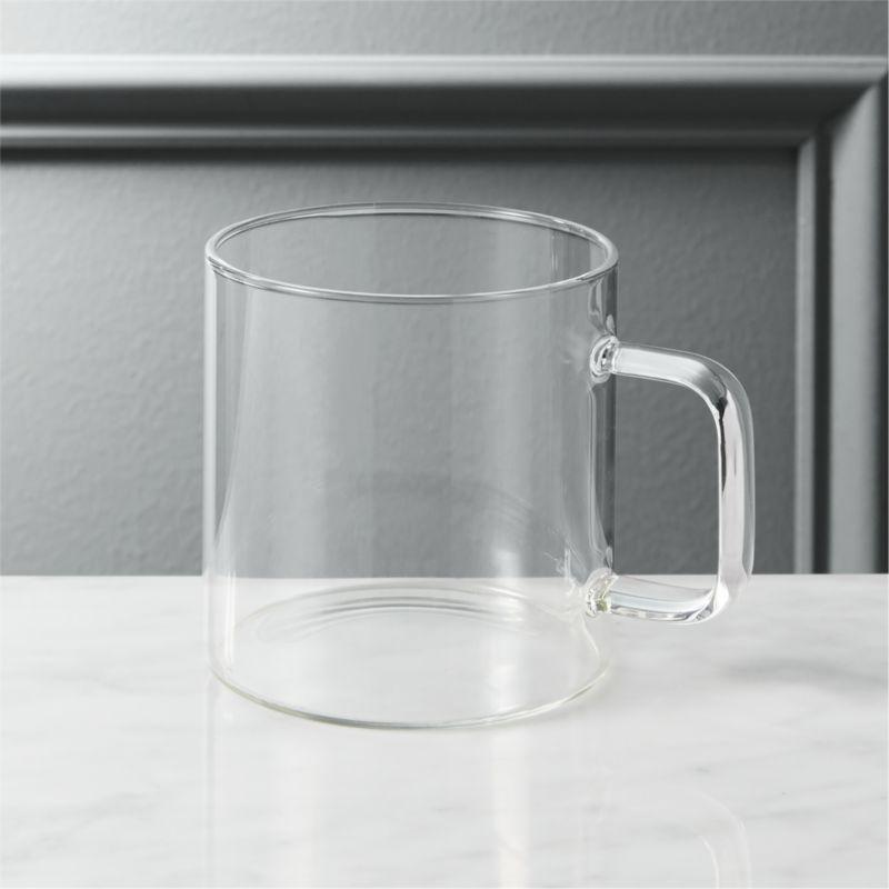 Cantina Glass Mug Cb2