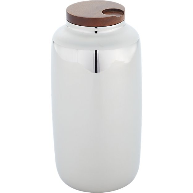 capsule silver canister