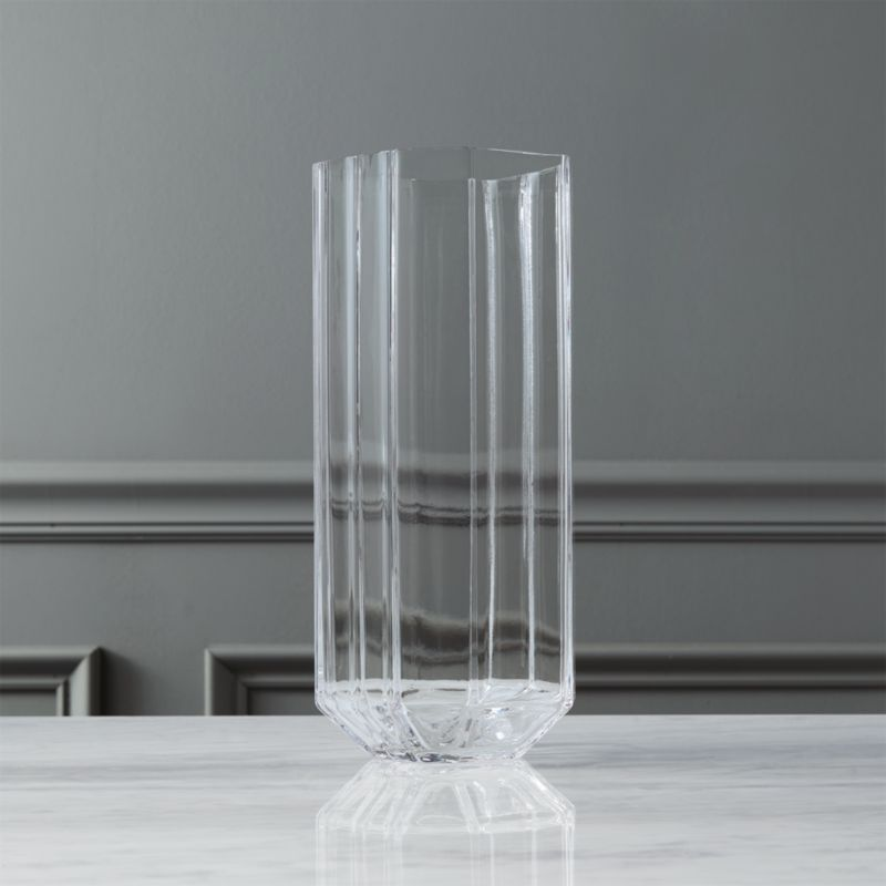Carlyle Glass Vase Cb2