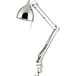 carpenter chrome lamp