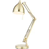 carpenter brass table lamp