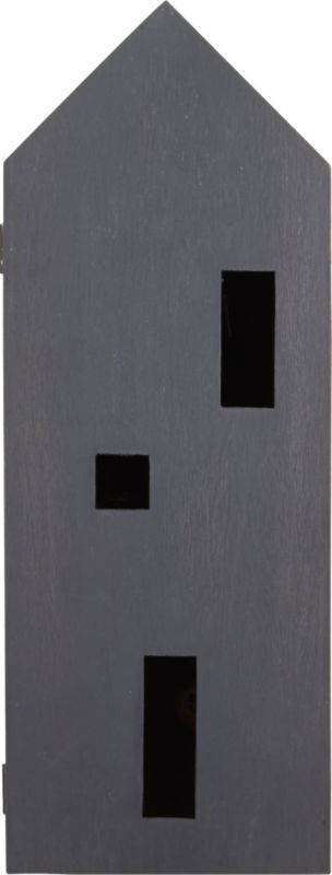 casa grey wall mounted storage