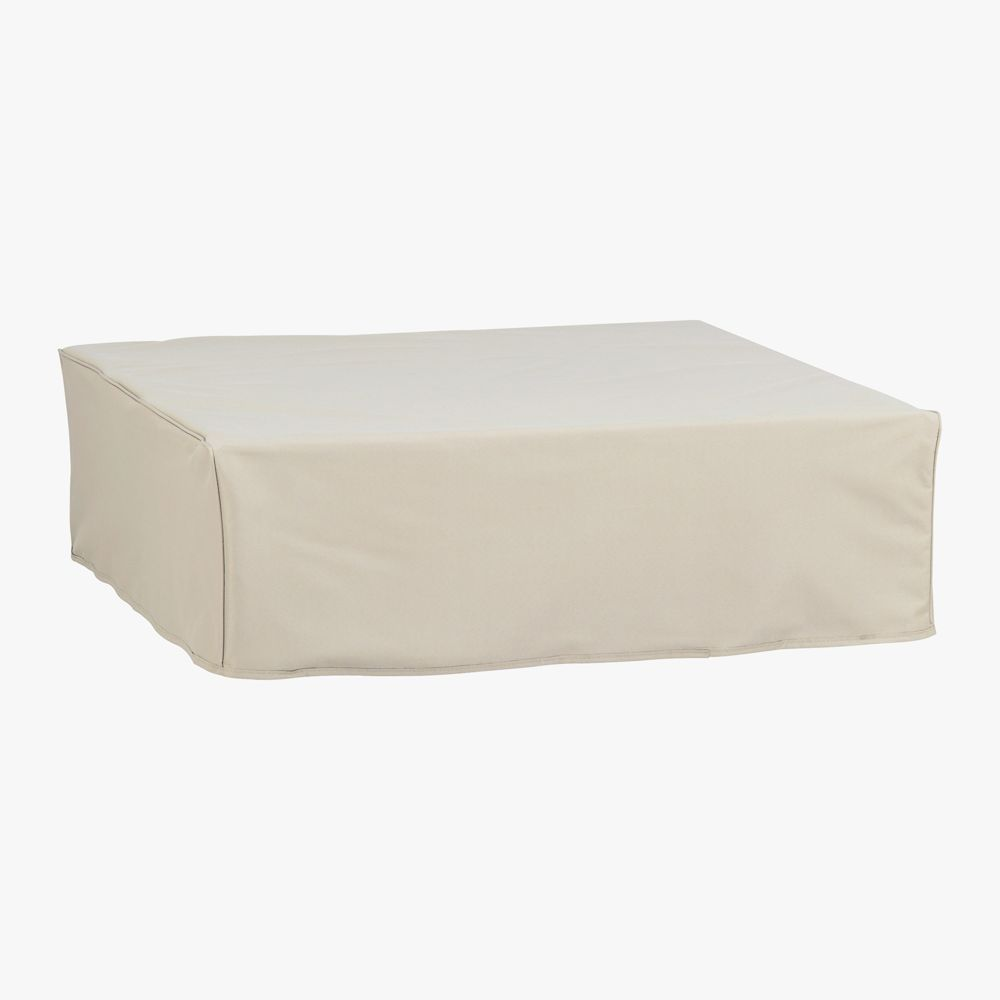 F2 square outdoor table cover in storage | CB2