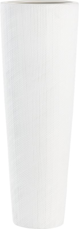 cast textured vase