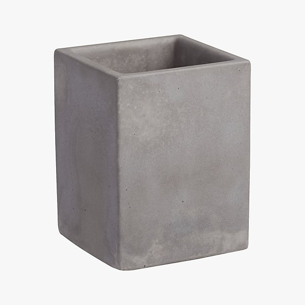 cement pencil cup