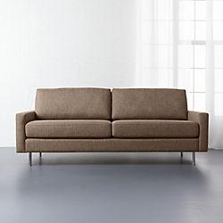 central sepia sofa