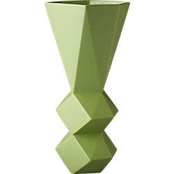 century green vase