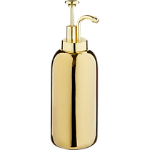 gold ceramic soap dispenser