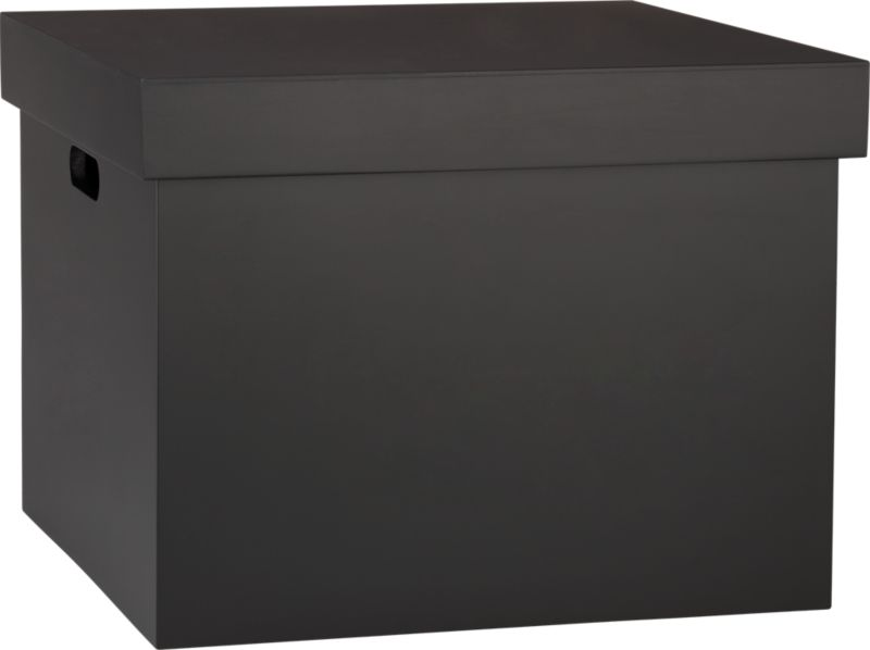 chalkboard file box