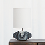 chamfer marble table lamp