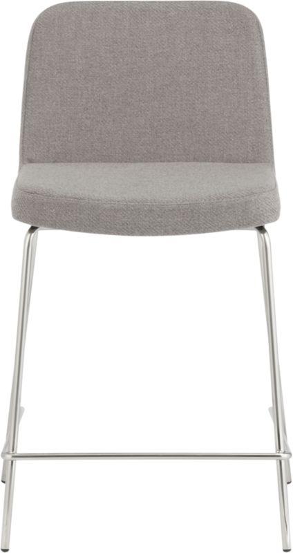 """charlie grey 24"""" bar stool"""
