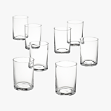 chaser glasses set of eight