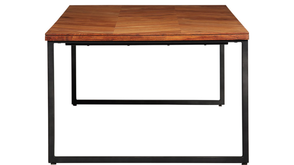 "chevron 56"" coffee table"